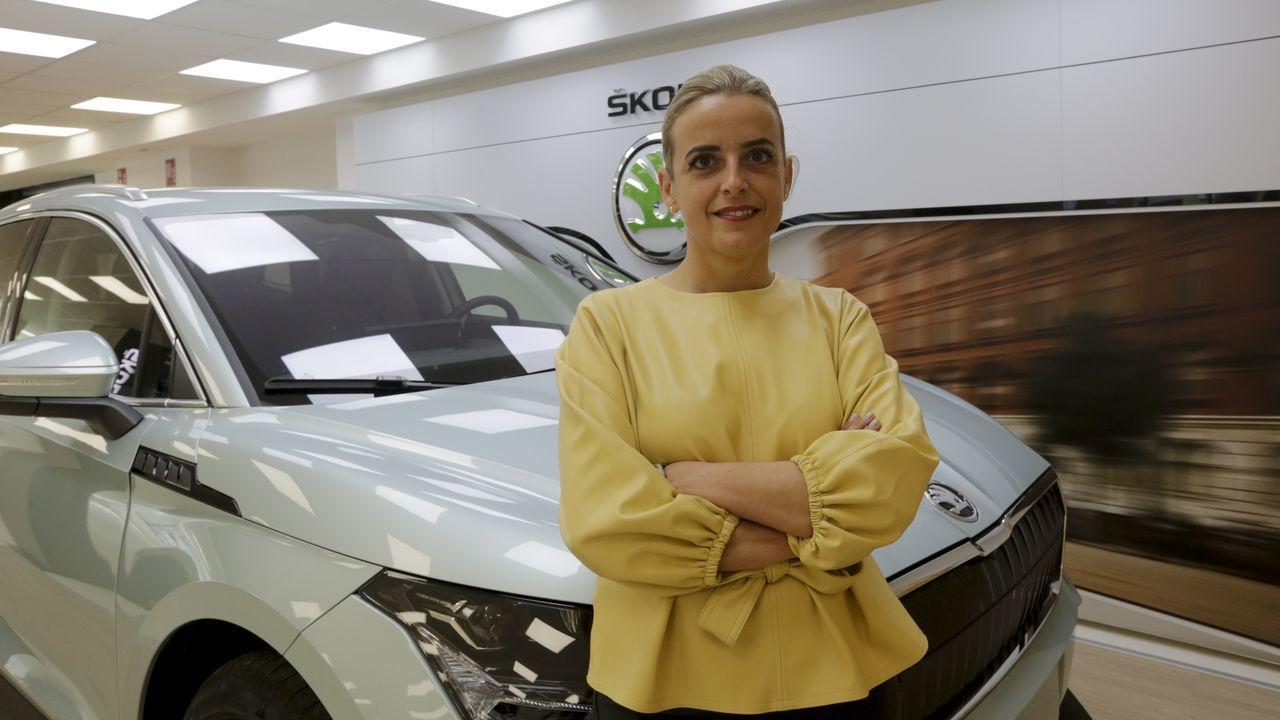 Iria Espinosa, copropietaria del restaurante Árbore da Veira de A Coruña