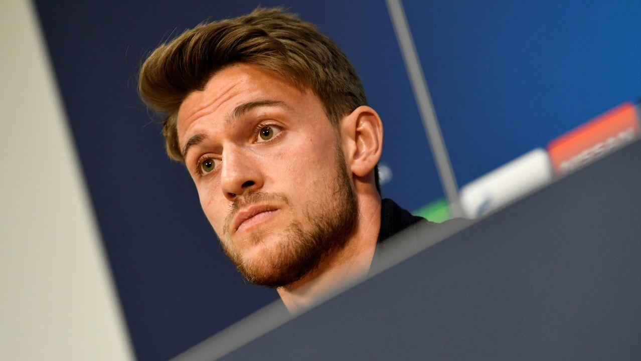 Daniele Rugani, jugador de la Juventus
