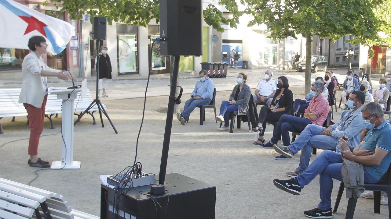 Acto del BNG la pasada semana en Ferrol