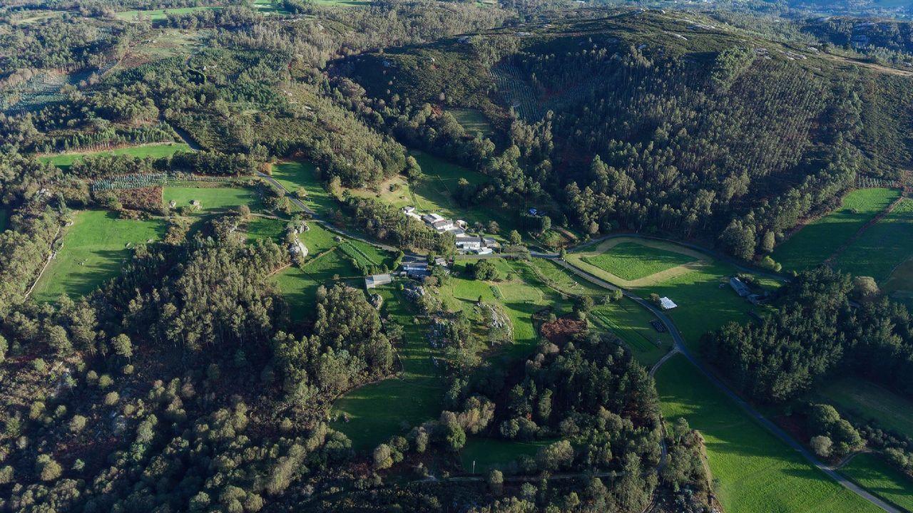 Las mejores vistas en la provincia de A Coruña desde las alturas.Las obras se realizarán desde Quintiá, en Narahío, hasta el límite con el Concello de A Capela