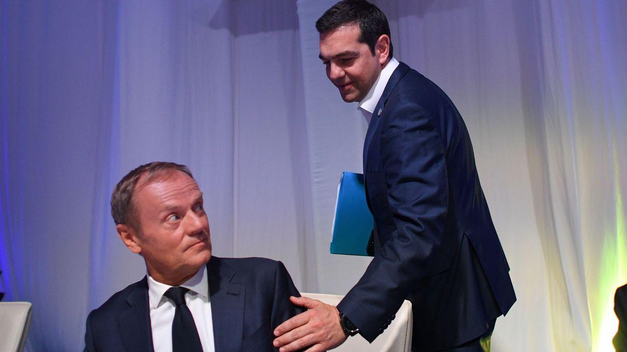 Macron recibe a Pedro Sánchez en el Elíseo