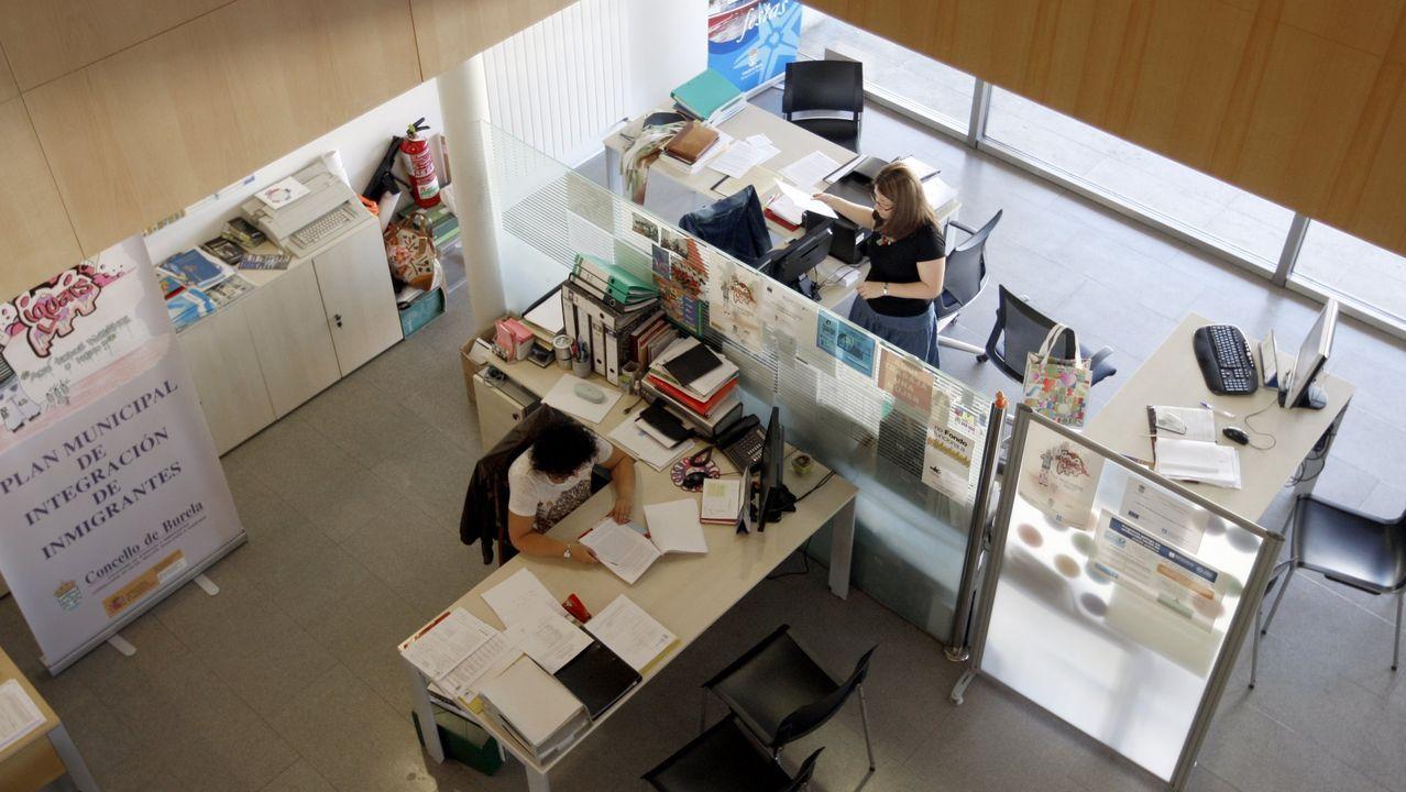 El grupo mariñano Mimimó, en imagen en Viveiro, abrirá el lunes otra tienda en Burela