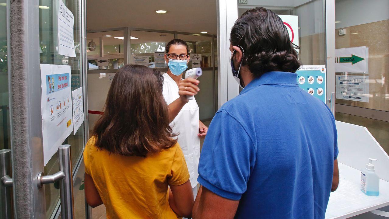 Centro de salud de Baltar, en Sanxenxo