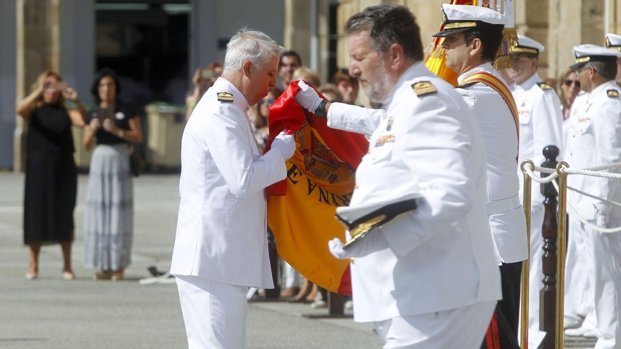 Vilanova rinde homenaje a las víctimas de las fuerzas armadas.Ceremonia del año pasado celebrada en el Arsenal