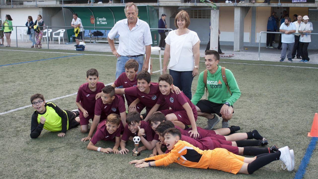 «El resultado es secundario».Las licencias en el fútbol gallego no han parado de crecer en los últimos años.