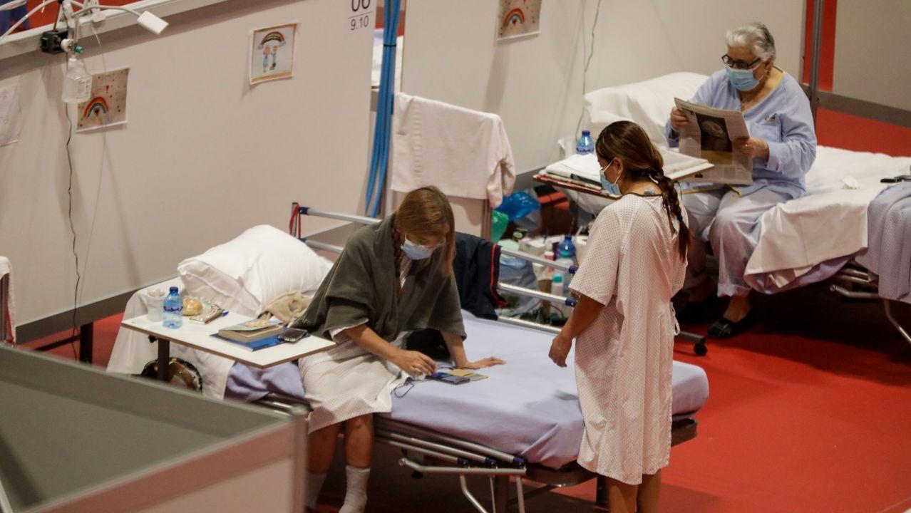 En Madrid, donde se montó un hospital de campaña en Ifema, puede estar afectada el 20 % de la población