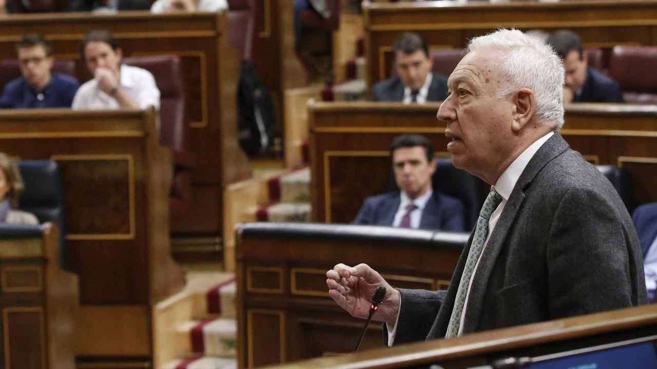 Margallo, en su etapa como ministro de Exteriores