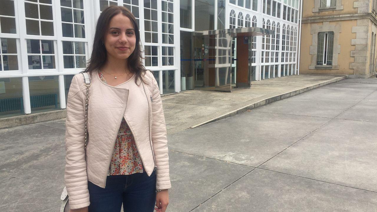 En la imagen, la UXAI del campus, donde ayer se empezaron a registrar las primeras matrículas en las titulaciones del campus