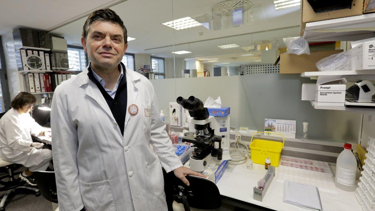 Blas Méndez, uno de los gallegos del grupo @virusmatematico