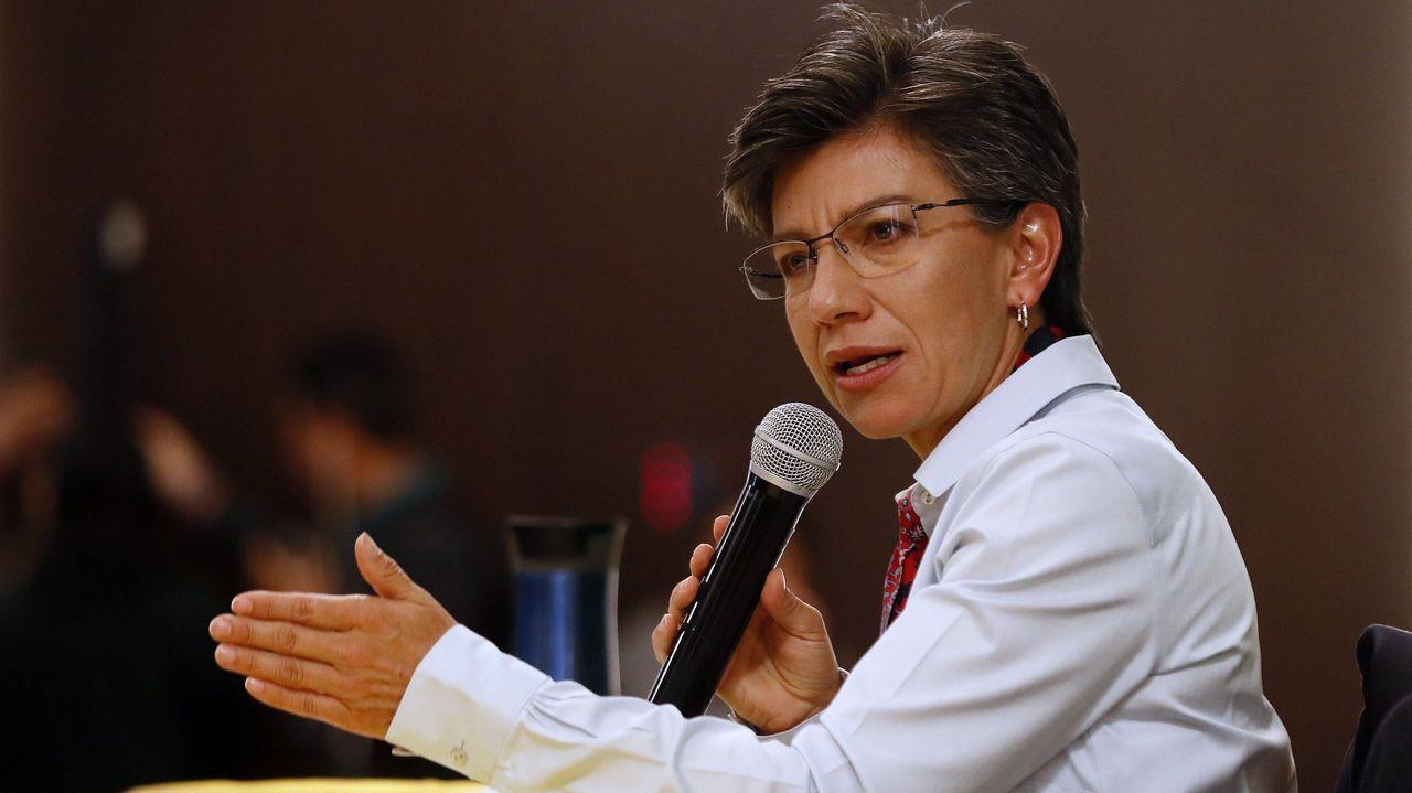 Un asturiano en mitad de las protestas de Chile.Claudia López, primera alcaldesa electa de Bogotá