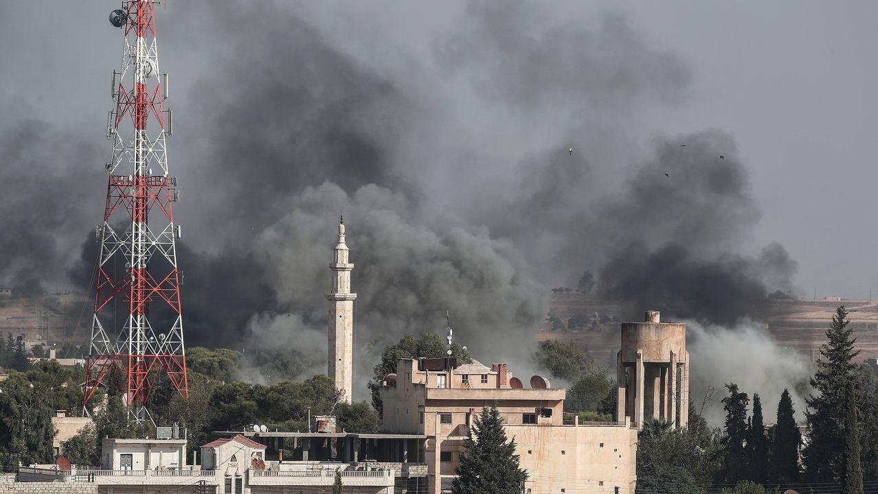 Al menos nueve civiles murieron este jueves por bombardeos y ataques de artillería turcos contra la población de Ras al Ain, según fuentes kurdas