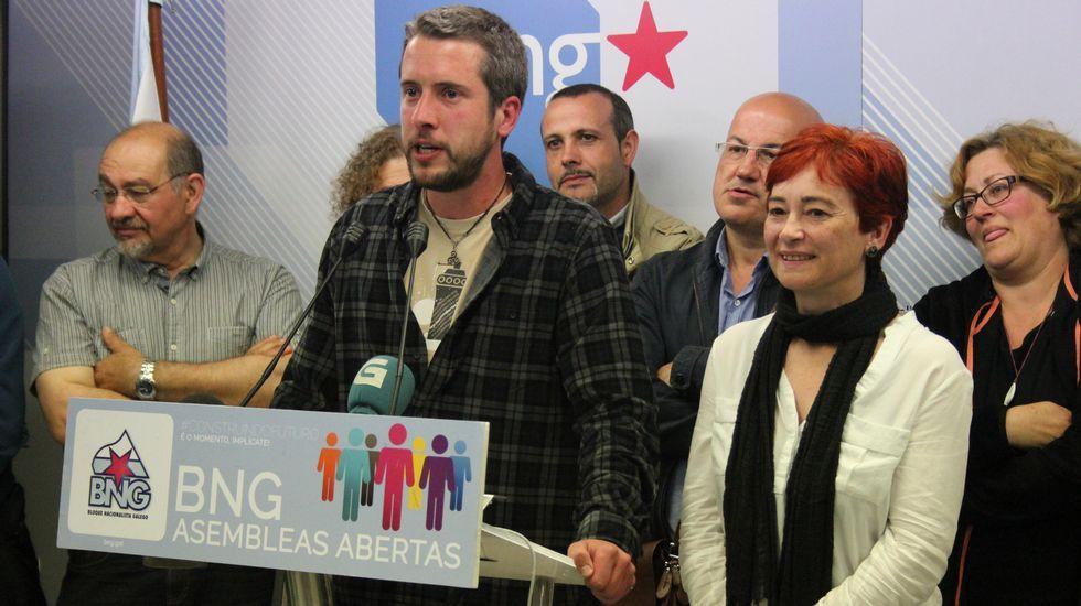 La noche electoral el Lugo.En el PSOE pocos dudan de que si llega el momento Orozco dará un paso atrás para que gobierne el PSOE.