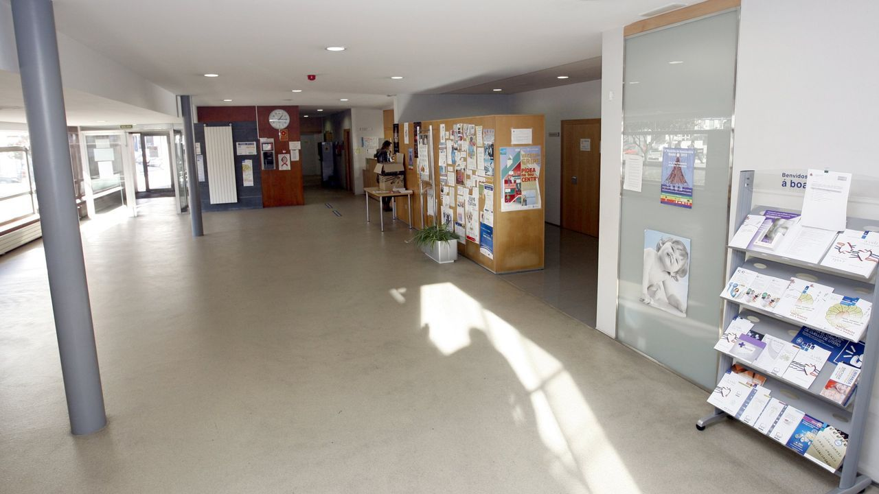 Imagen de archivo del centro de salud de Burela
