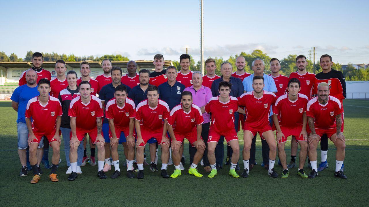 Así fue la primera eliminatoria de la Copa Deputación A Coruña masculina ¡Las imágenes!