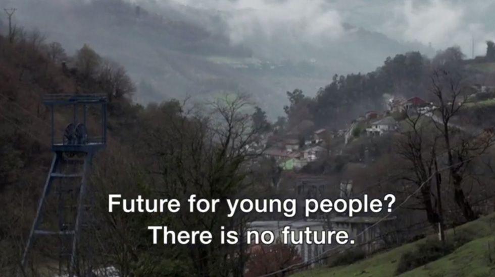 Reportaje de la BBC sobre la economía de trueque en Asturias