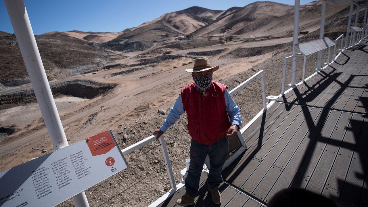 Jorge Galleguillos, uno de los 33 mineros rescatados