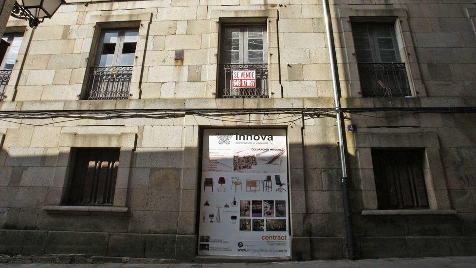 Uno de los edificios singulares del casco histórico de Monforte que siguen pendientes de rehabilitación