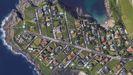 Punta Canide, en Google Maps.