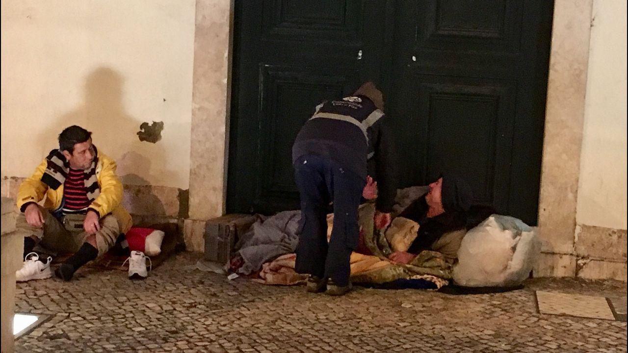 «Grupos violentos coordinados» en las capitales catalanas.Os traballos afectarán á ala sur de San Domingos de Bonaval