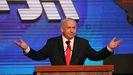 Benjamin Netanyahu, en el último mitin final de la última campaña