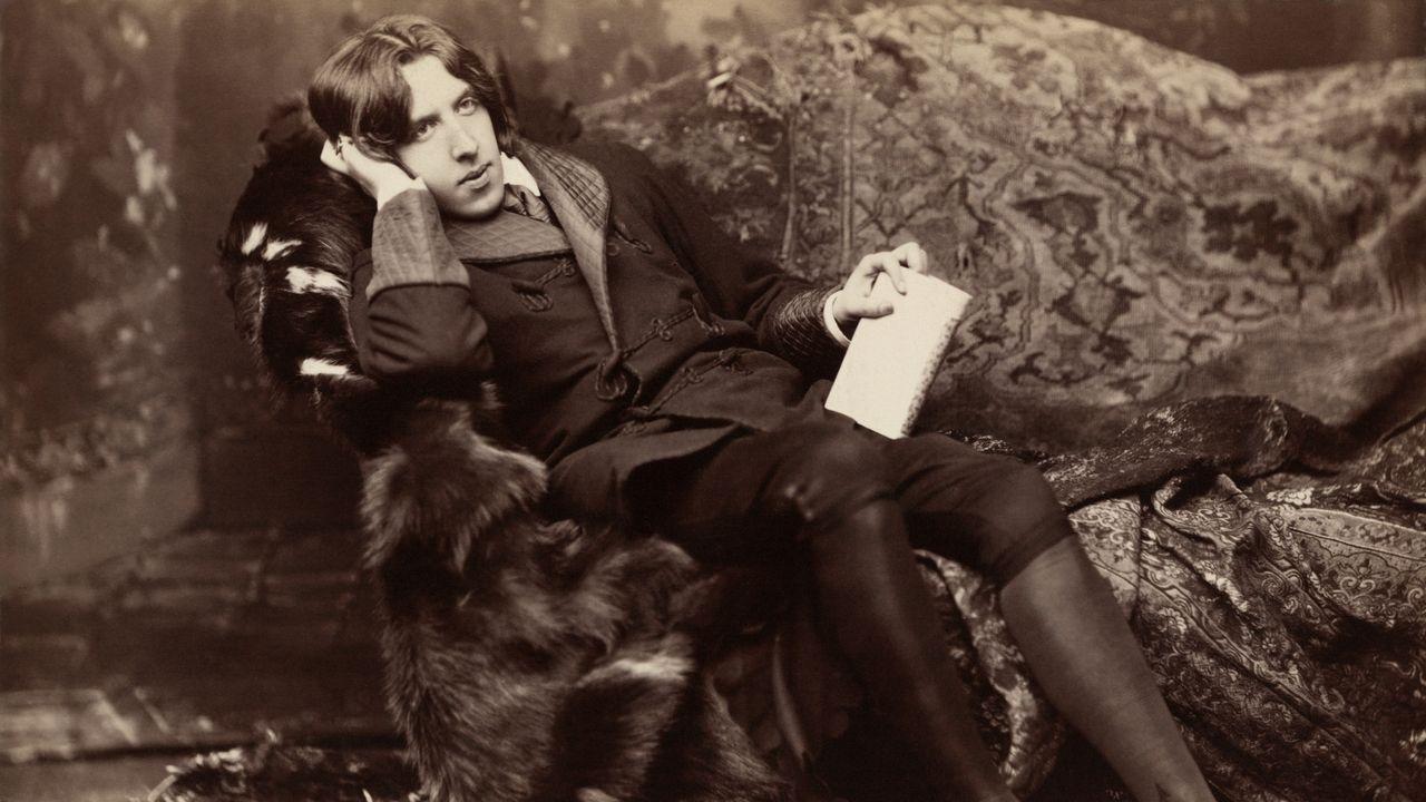 groenlandia.El escritor Oscar Wilde retratado por Karen Arnold