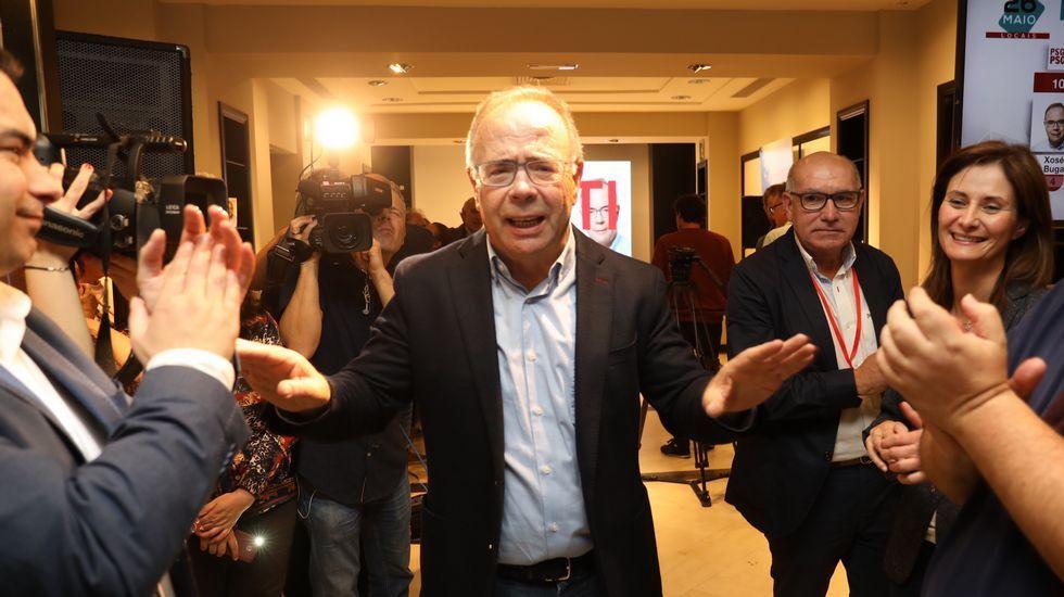 El PP de Ribeira festeja la victoria de Manuel Ruiz Rivas en las elecciones municipales