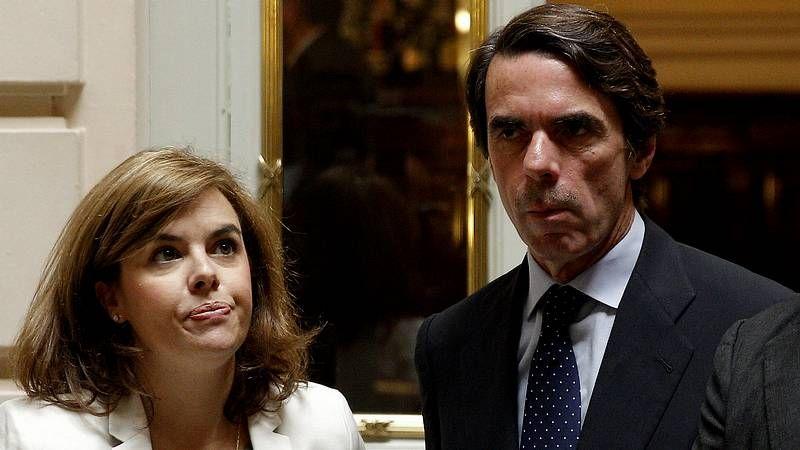 Aznar apoya a Arias Cañete.Pablo Iglesias celebra el triunfo de Podemos, que consigue 5 escaños.