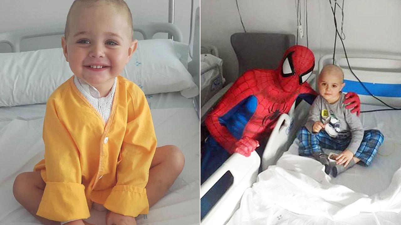Rafa fue diagnosticado con leucemia antes de los dos años. Ha fallecido en Oviedo