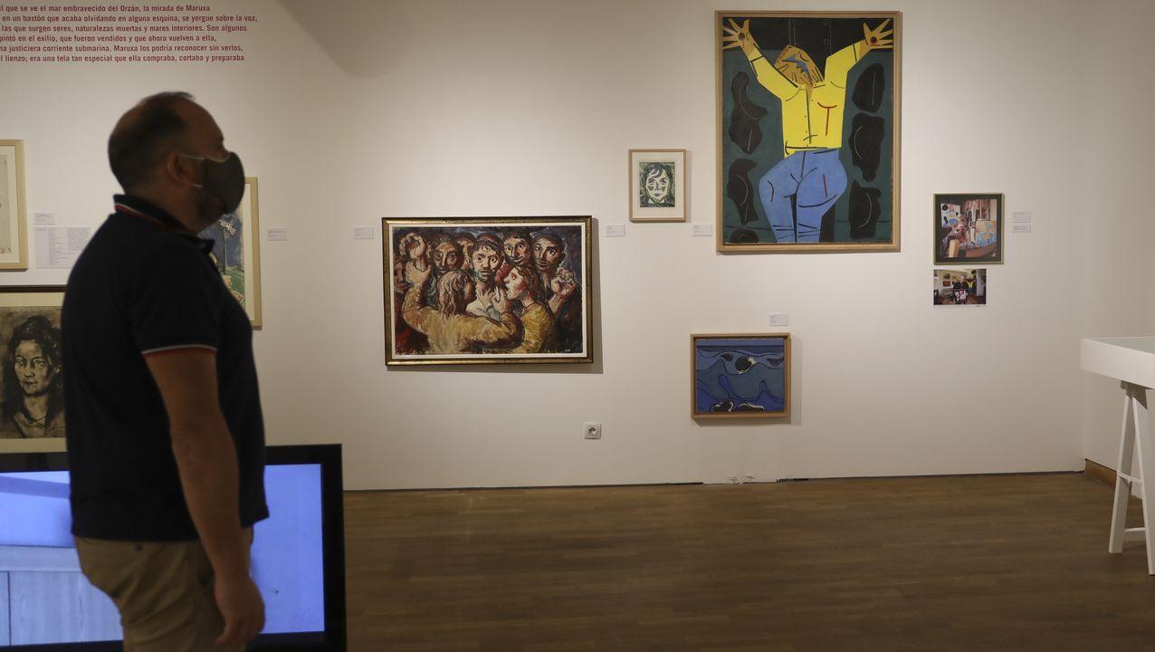 A mostra sobre Maruxa Seoane pode verse ata o 20 de setembro na Fundación Granell