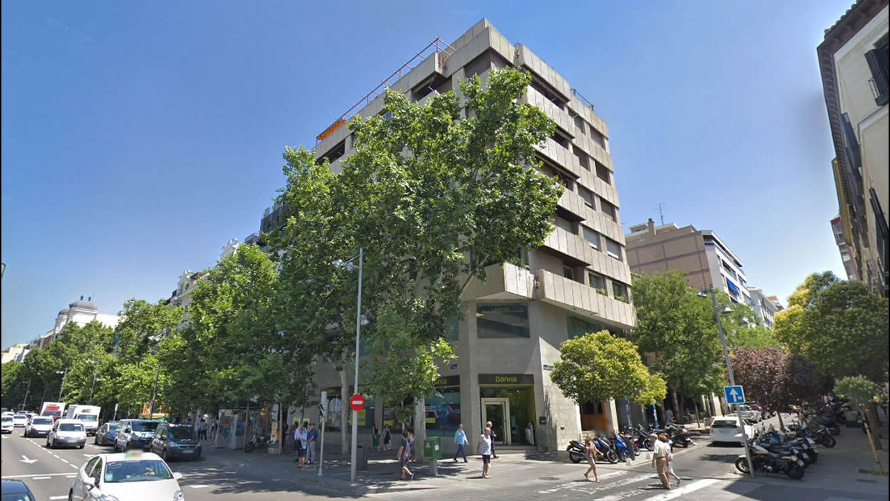 La sede central de Liberbank en Oviedo