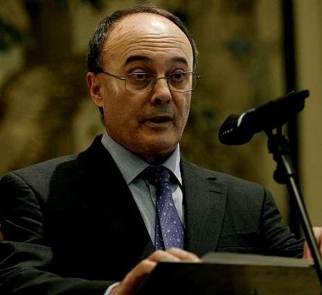 Rueda de prensa de Jose María Castellano y César González Bueno.Linde espera el resultado de la auditoría a finales de julio.