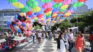 Foto de archivo de la Fiestas de San Ramón, en Vilalba, una de las muchas que no se pudieron celebrar este año