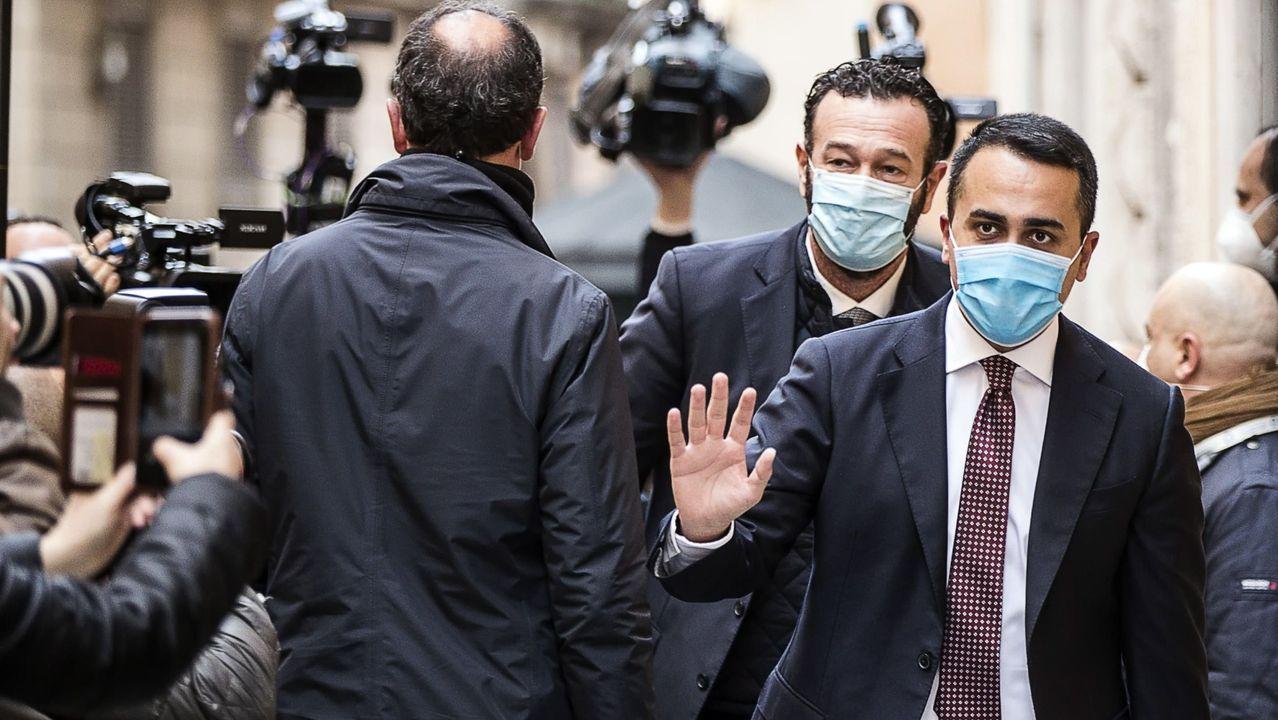 Luigi Di Maio, ministro de Exteriores y líder del M5E, el pasado 6 de febrero