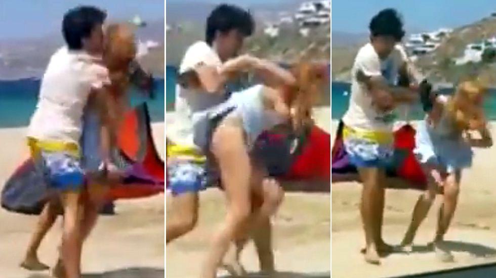 Así fue la agresión que sufrió Lindsay Lohan