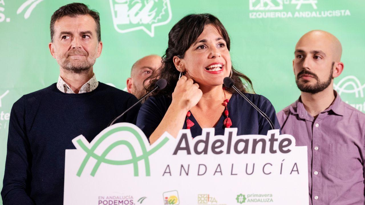 Día 1 después de las elecciones andaluzas : el PSOE mira a Ciudadanos mientras ellos y el PP se giran hacia Vox.Javier Fernández Lanero