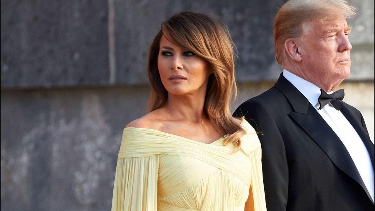 ¿Qué le ocurre a Melania Trump?