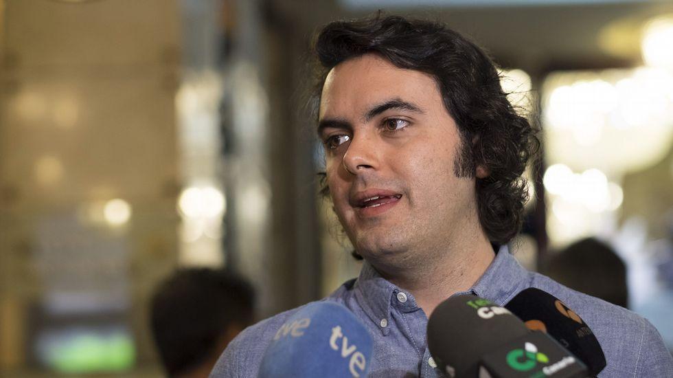 El director de Spotify para el sur de Europa, Miguel Bañón, atendió a los medios durante el foro tecnológico