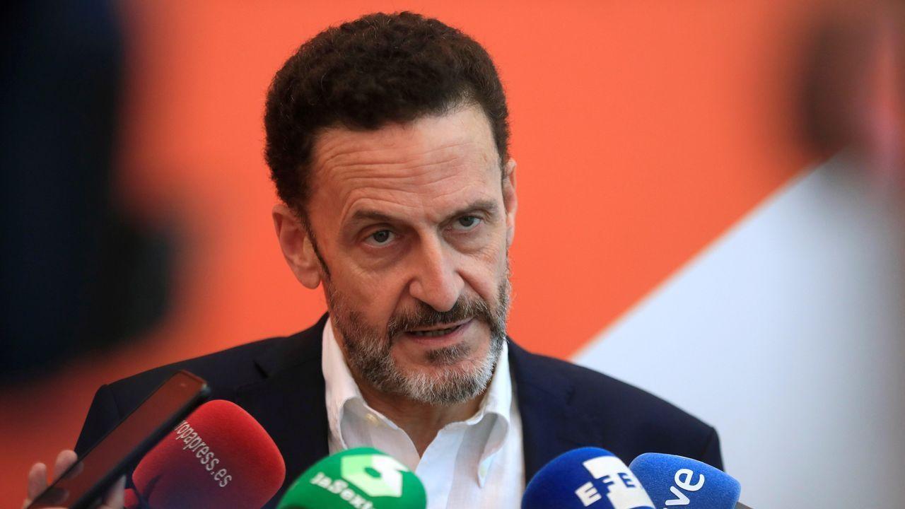 Alejandro Giammattei gana las elecciones en Guatemala.El diputado y portavoz adjunto de Ciudadanos en el Congreso de los Diputados, Edmundo Bal
