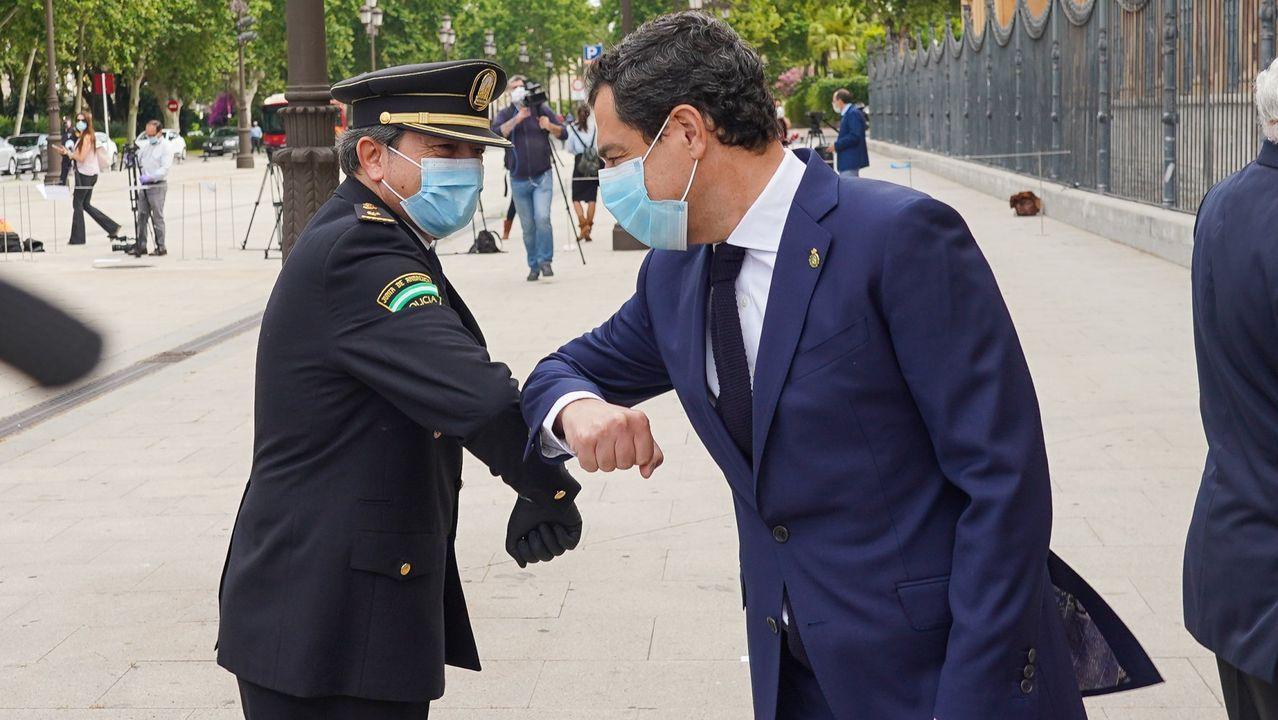 Moreno Bonilla y Ximo Puig instan al Gobierno a rectificar sus criterios para que sus territorios accedan a la fase 1.La portavoz del Gobierno, María Jesús Montero, en la ruda de prensa tras el Consejo de Ministros