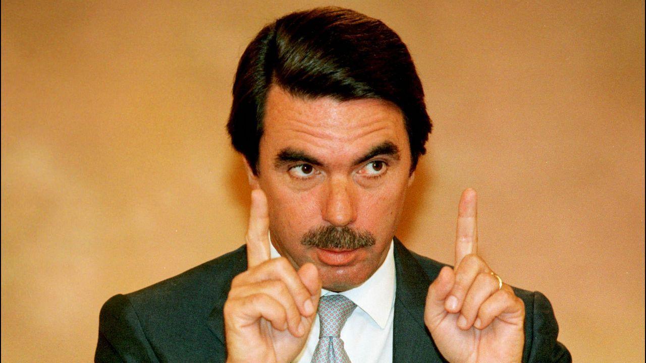 José María Aznar (PP).José María Aznar (PP). De marzo de 1996 hasta abril del 2004. Fue presidente 2.918 días