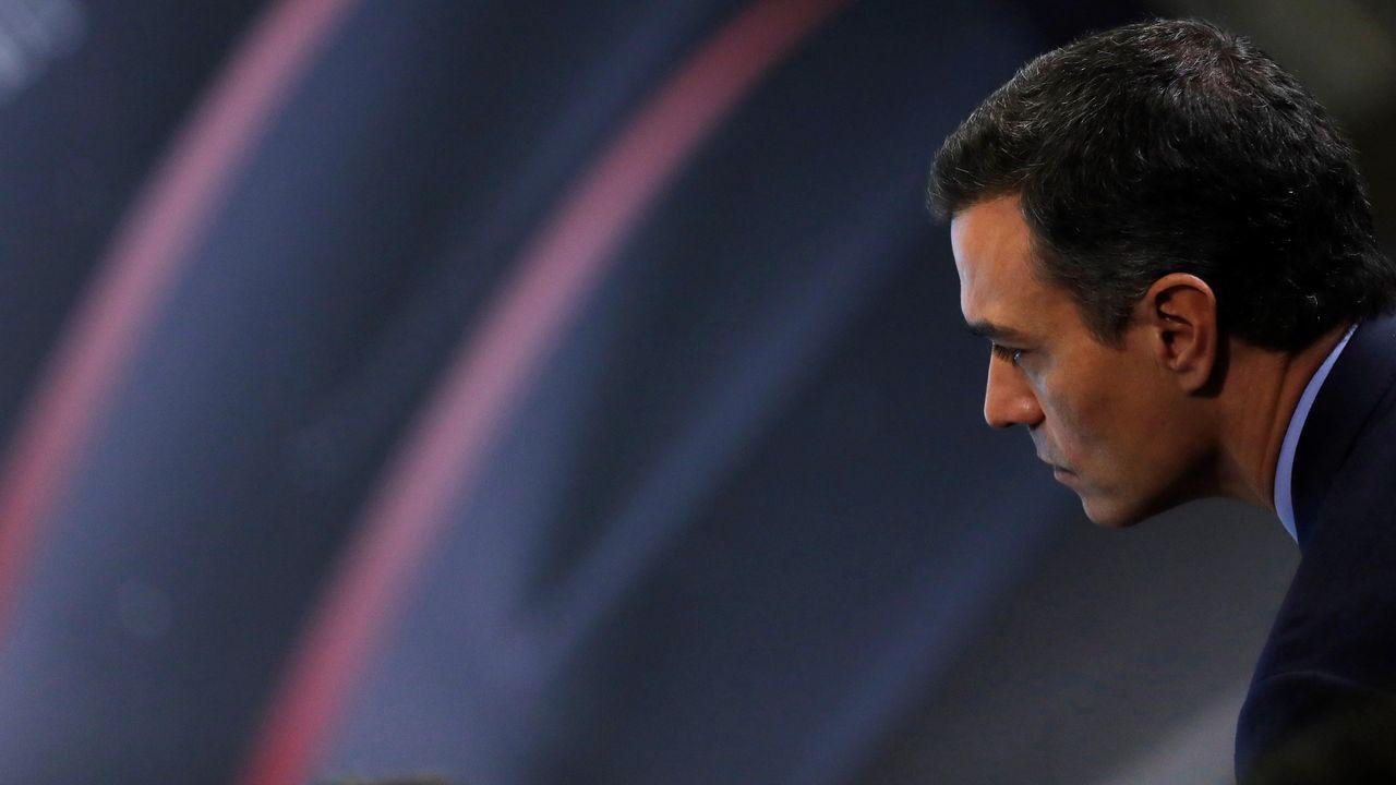 Pedro Sánchez, este miércoles, en el Congreso de las Empresas Familiares Europeas