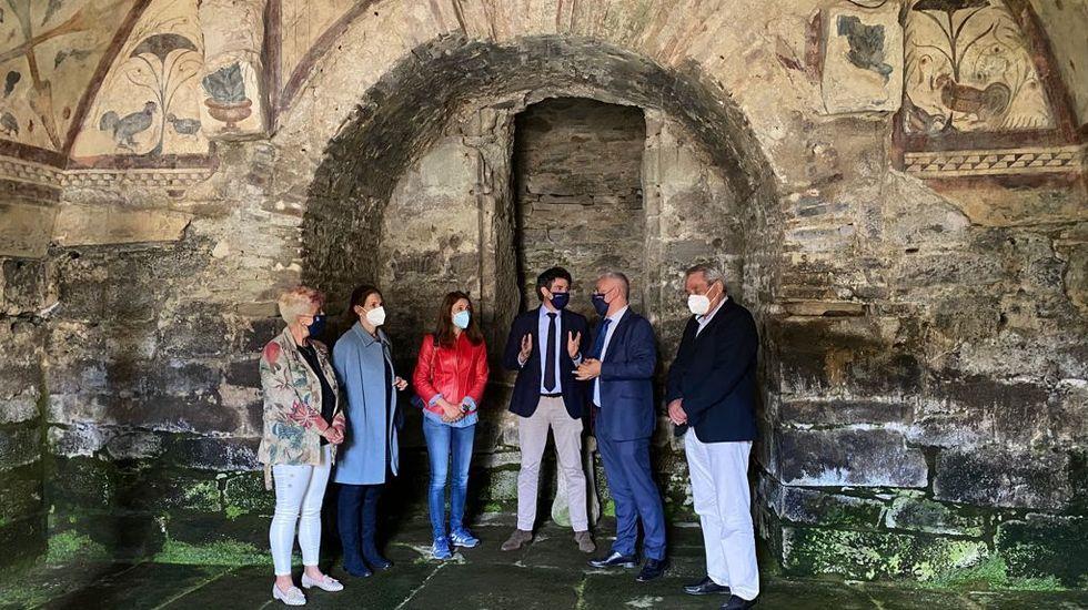 Así es la iglesia románica de Penamaior.Visita de Javier Arias a Santa Eulalia de Bóveda
