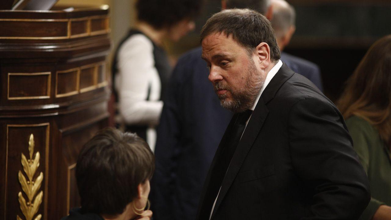 Oriol Junqueras, el pasado mayo, en la constitución del Congreso de los Diputados