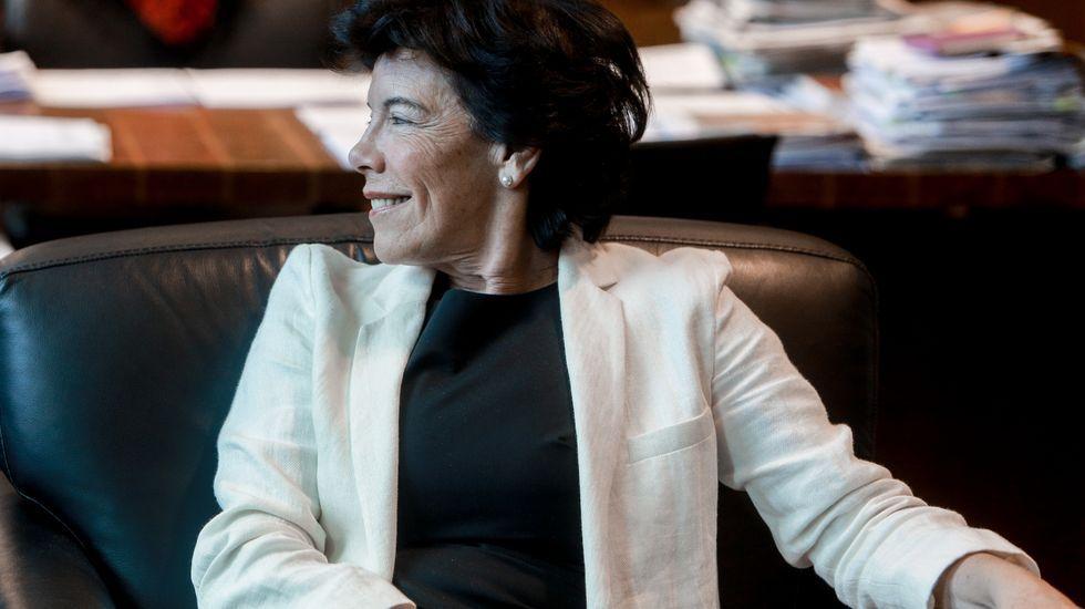 Isabel Celaá, ministra de Educación en funciones
