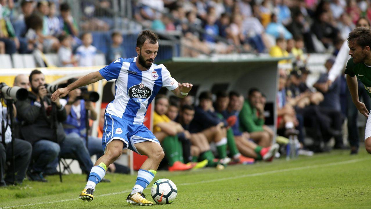 Instagram del jugador del Dépor Borja Valle