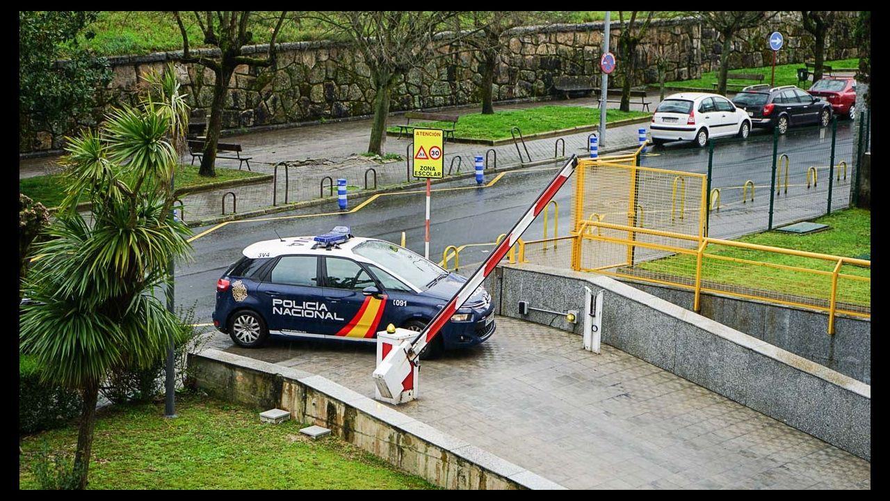 La Policía Nacional, de patrulla