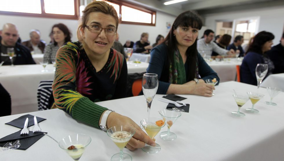 El Salón Peña acogió una demostración de las posibilidades del aguardiente en la cocina y la coctelería.