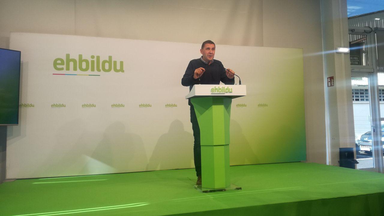 Arnaldo Otegi, líder de EH Bildu