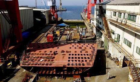 El astillero Vulcano es uno de los que ansían una resolución favorable tras salir del concurso de acreedores.