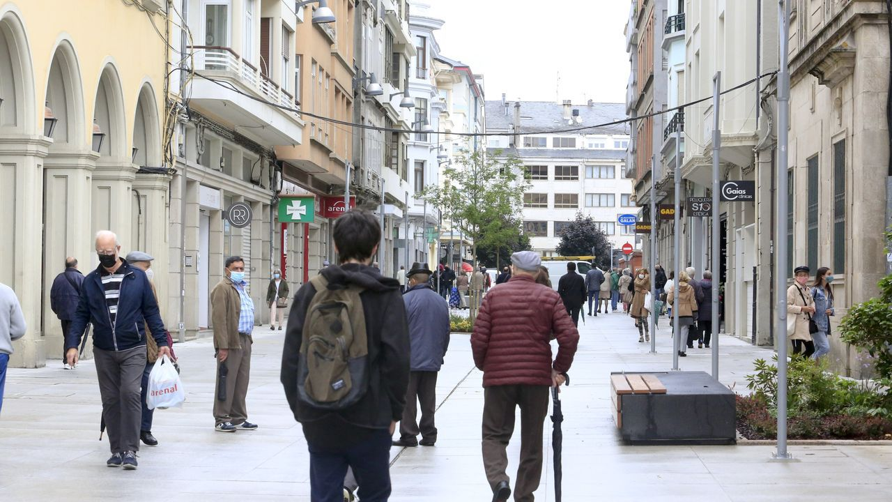 La calle Quiroga Ballesteros ha sido la última en peatonalizar